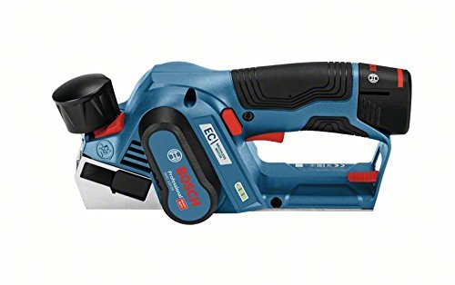 Bosch GHO 12V-20 Professional - blue / black - 2x Li-ion battery 3 -0Ah Elektroinstruments