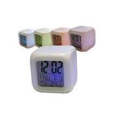 Kemot AG14 Modinātājs-hameleons ar LED apgaismojumu, datuma un temperatūras rādījumiem barometrs, termometrs