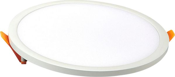V-TAC LED SLIM PANEL VT-2222RD 22W 2200LM 4000K ROUND -SKU4938 apgaismes ķermenis
