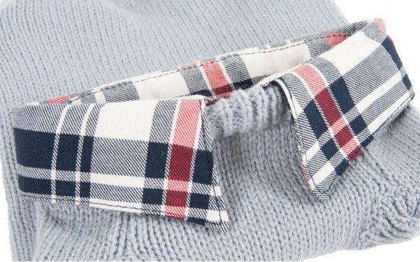 Zolux Sweterek z kolnierzykiem w kratke T30 kol. szary 410932GRI