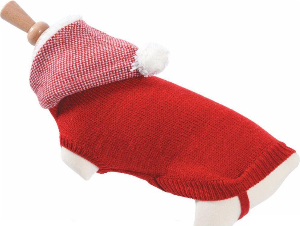 Zolux Sweterek z kapturem T35 kol. czerwony 1545076