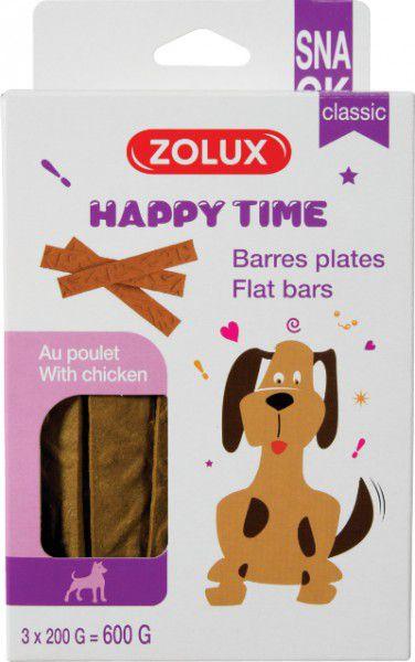 Zolux Przysmaki Happy Time Classic Paski z kurczakiem - 200g 1105752