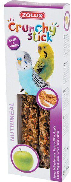 Zolux Crunchy Stick papuga mala proso/jablko 85 g 1105145