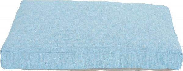 Zolux Poducha ze zdejmowanym pokrowcem Levika 110 cm niebieski 1107512