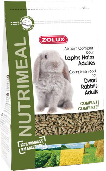 Zolux Granulat Nutri'Meal Krolik dorosly 800 g 1106353