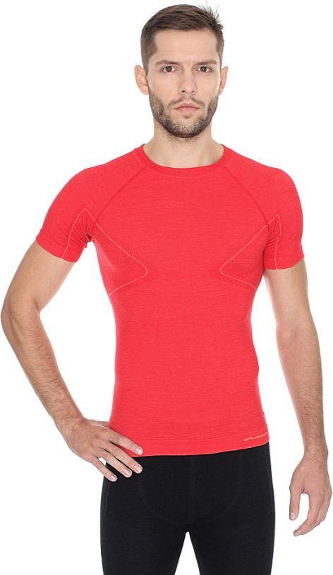 Brubeck Koszulka meska z krotkim rekawem ACTIVE WOOL czarny r. XXL (SS11710) SS11710