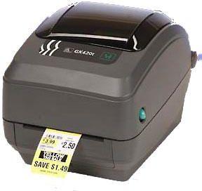 Drukarka etykiet Zebra GK 420t (GK42-102520-000) uzlīmju printeris