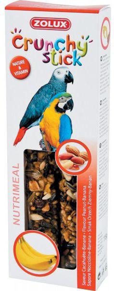Zolux Crunchy Stick papuga orzech ziemny/banan 115 g 1105144