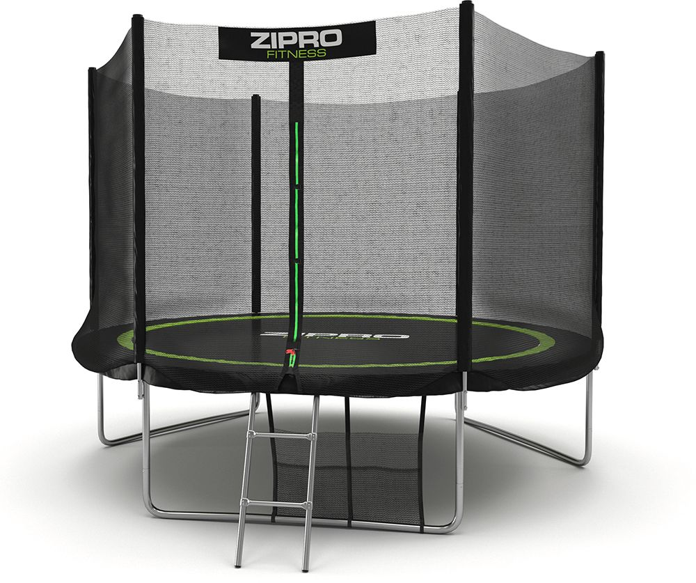 Zipro Garden trampoline with external net 10FT 312cm + shoe bag FREE! Batuts