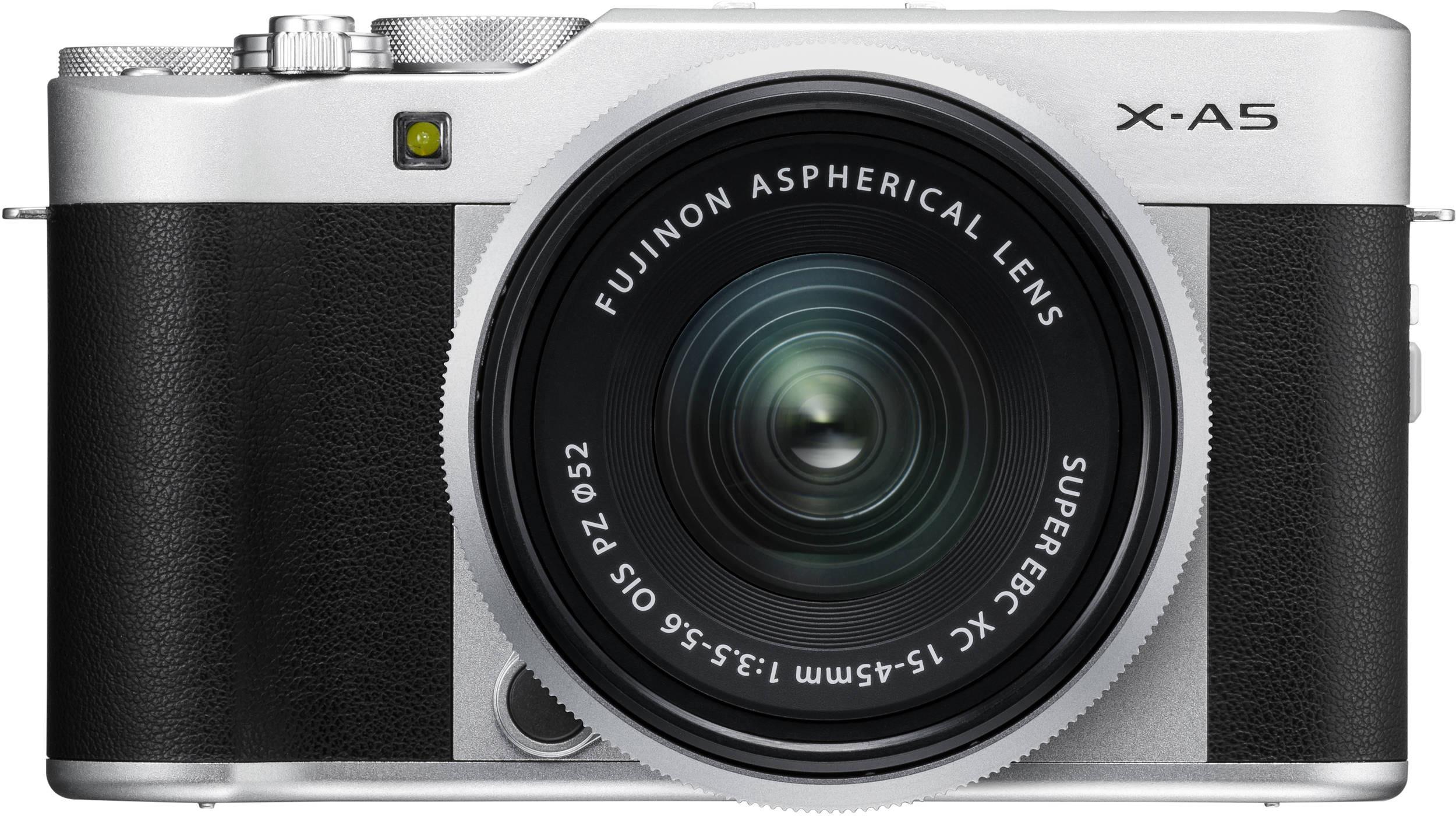 Fujifilm X-A5 + 15-45mm Kit, sudrabots 4547410365733 16568901 Digitālā kamera