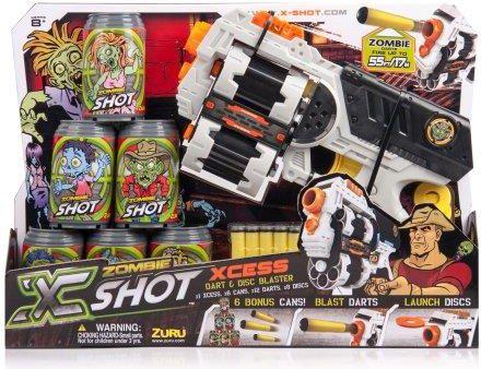 X-SHOT Zombie Xcess zestaw Rotaļu ieroči