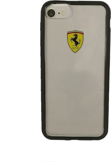 Ferrari FEHCRFP7BK hard  case iPhone 7 transpare