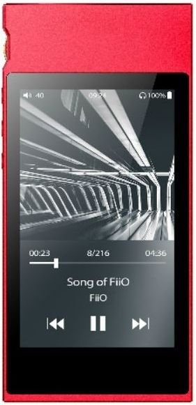 Odtwarzacz MP4 FiiO M7 czerwony FiiO M7 czerwony odtwarzacz audio MP3 atskaņotājs