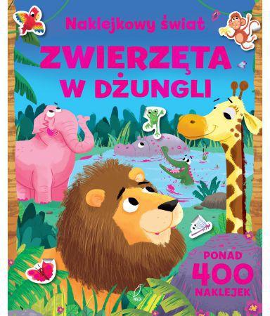 Foksal Ksiazeczka zwierzeta w dzungli 226044 Literatūra