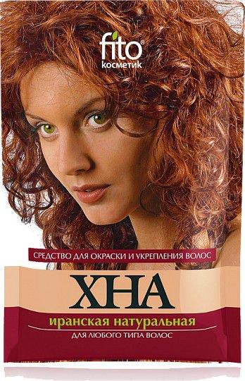 Fitocosmetics Naturalna henna iranska czerwona do wszystkich rodzajow wlosow 25g 929875