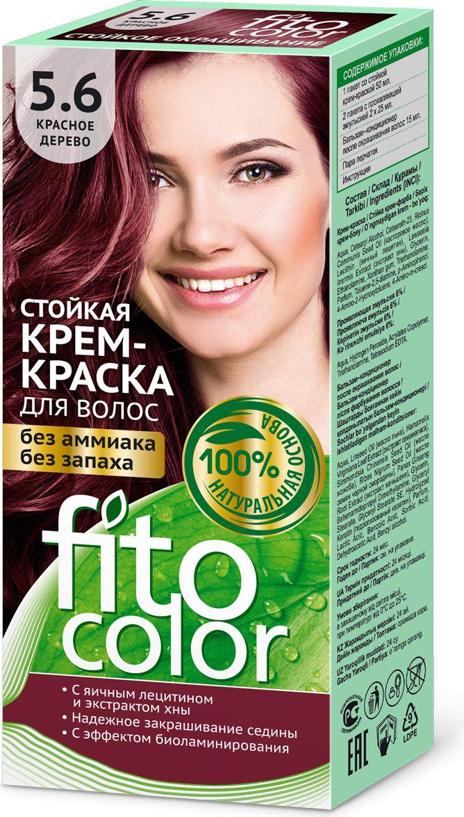 Fitocosmetics Fitocolor Farba-krem do wlosow nr 5.6 drzewo czerwone  1op. 3022396