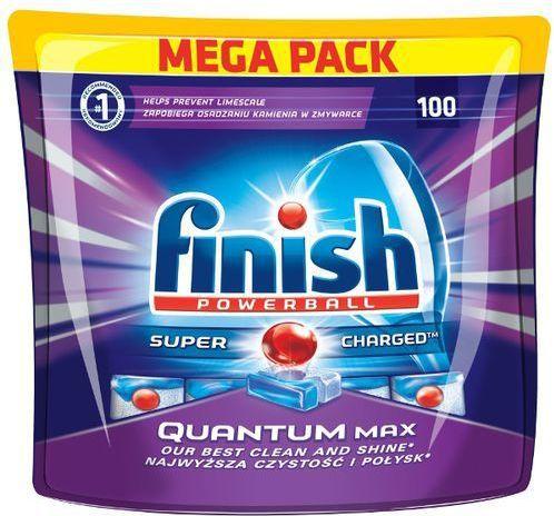Finish Capsules Quantum max 100 regular tīrīšanas līdzeklis
