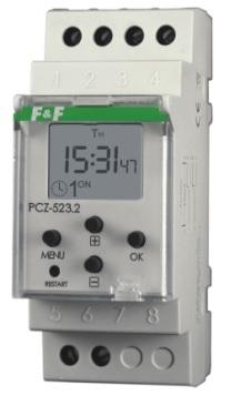 F & F Timer 16A pulse school PCZ-523