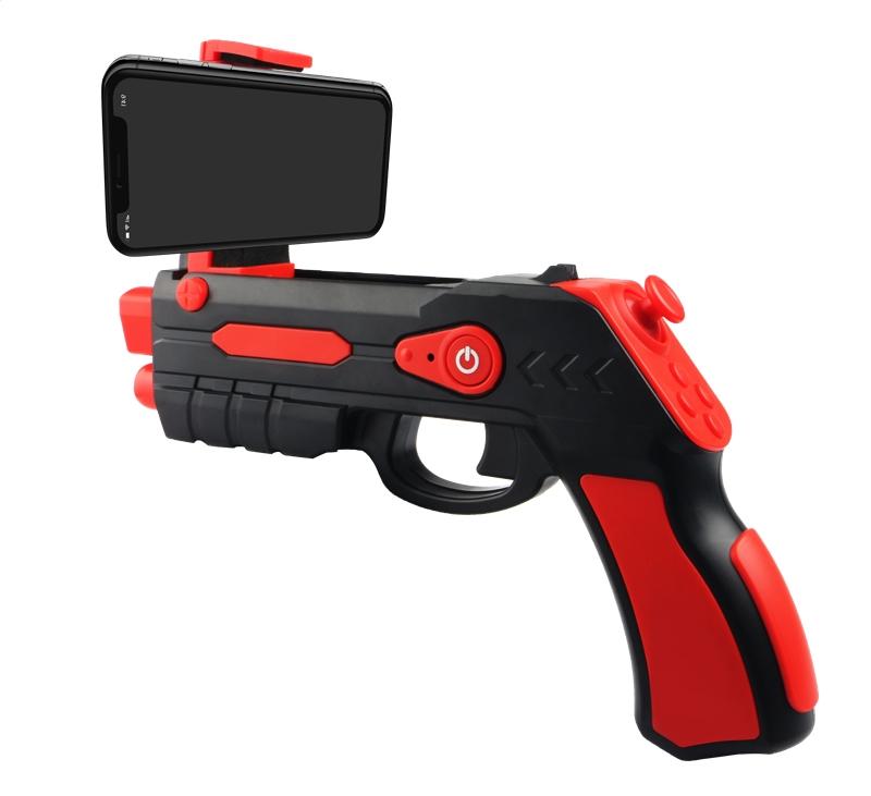 Omega Remote Augmented Reality Blaster Gun Universal Bluetooth 4.0 Spēļu Kontrolieris Pistole + Spēles Bezmaksas (Android, iOS) spēļu konsoles gampad