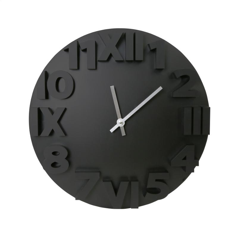 Platinet PZMOBC Modern Sienas pulkstenis Melns Sienas pulkstenis