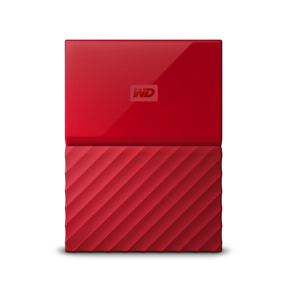 WD My Passport 2TB portable Red Thin Ārējais cietais disks