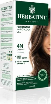 Herbatint Naturalna Durable Hair Paint Series N Natural 4N - Chestnut