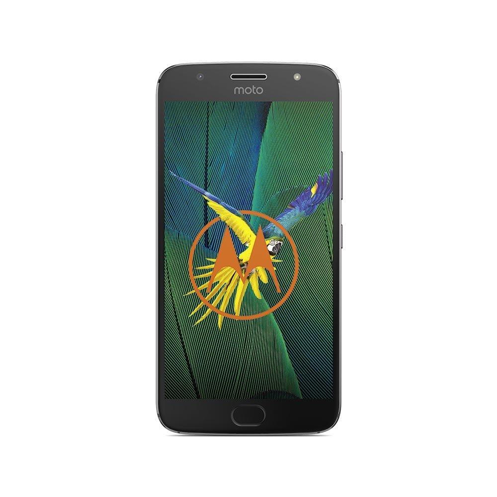 Lenovo Moto G5S Plus - 5.5 - 32GB - Android - grey Mobilais Telefons