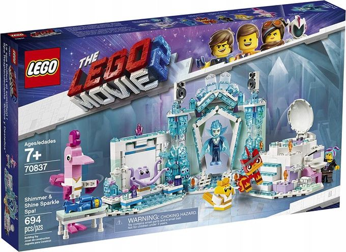 LEGO Movie 2 70837 Shimmer & Shine Sparkle Spa LEGO konstruktors
