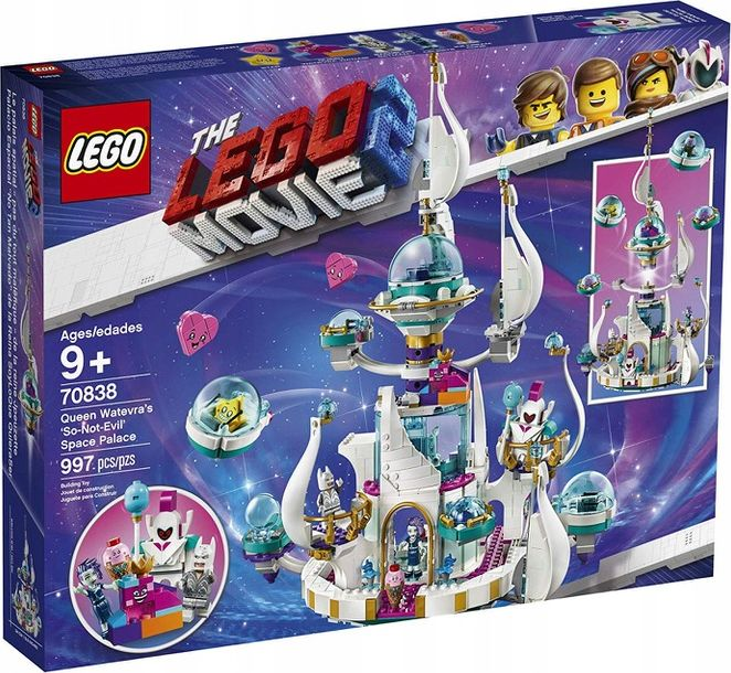 LEGO Movie 2 70838 Queen Watevra 'So-Not-Evil' Space Palace LEGO konstruktors