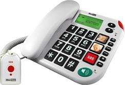 MAXCOM KXT 481 SOS CORDED TELEPHONE telefons