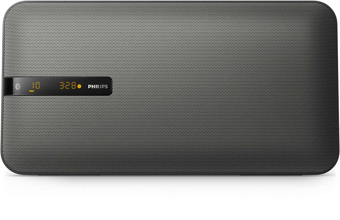 PHILIPS Mikro sistēma ar Bluetooth 20W BTM2660/12 mūzikas centrs