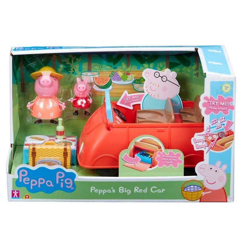 Figures set Peppa Pig Car Deluxe PEP06921 bērnu rotaļlieta