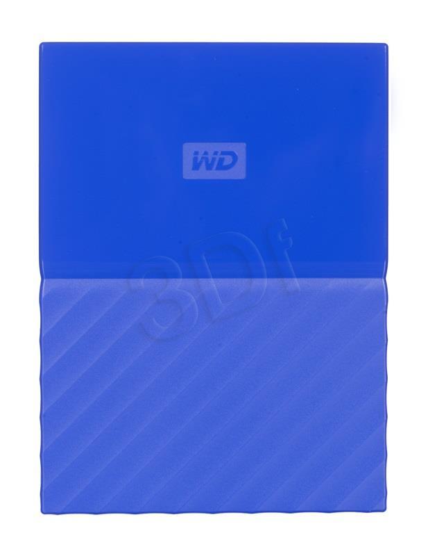WD My Passport 2.5'' 2TB USB 3.0 Blue Ārējais cietais disks