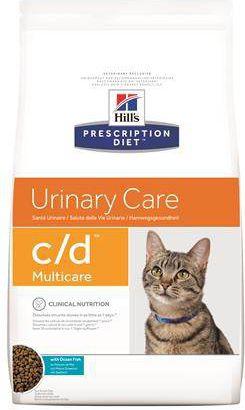 Hills Prescription Diet c / d Feline with Marine Fish 5kg kaķu barība