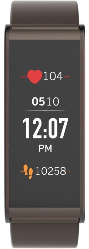 MyKronoz Smartwatch  Zefit4 HR 80 mAh, Touchscreen, Bluetooth, Heart rate monitor, Brown, Activity tracker with smart notifications, Viedais pulkstenis, smartwatch