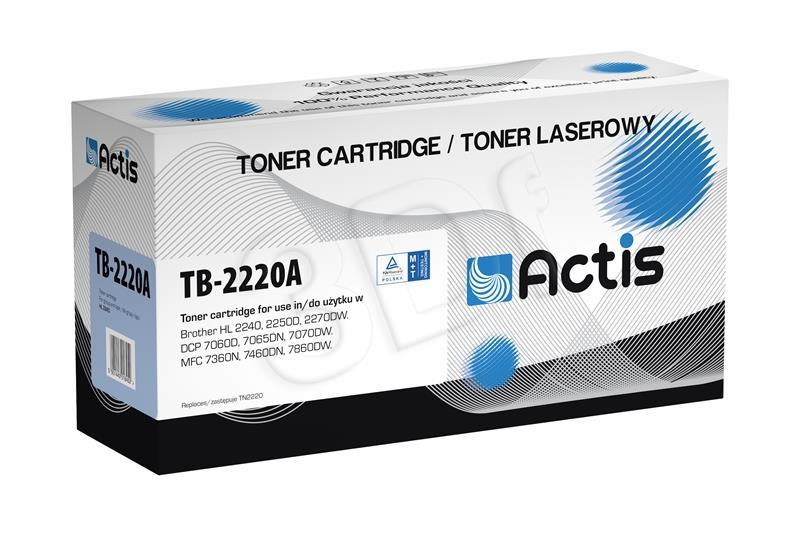 Actis TB-2220A toner Black for drukarki Brother (zamiennik Brother  TN-2220) Supreme toneris