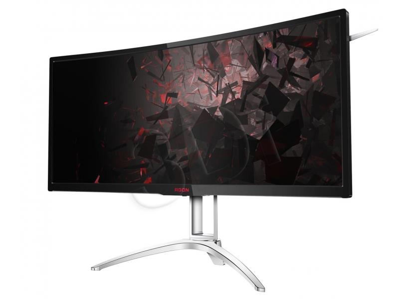 AOC AG352QCX 35'' MVA   DVI HDMI MHL DP Speaker publiskie, komerciālie info ekrāni