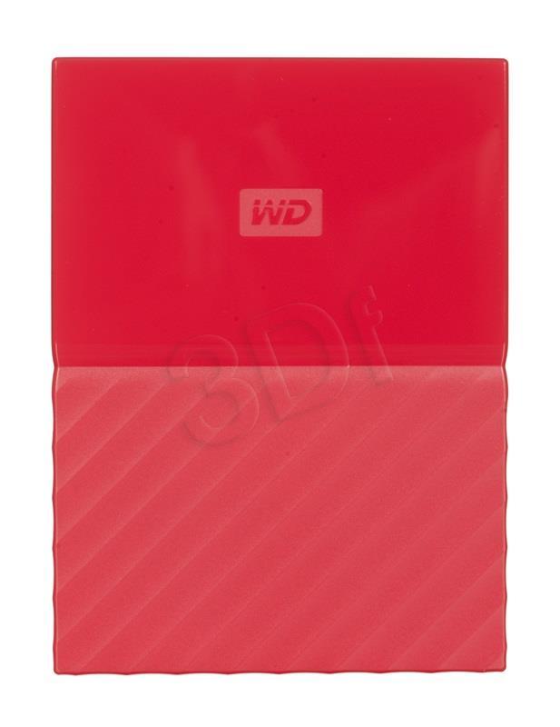 WD My Passport 2.5'' 2TB USB 3.0 Red Ārējais cietais disks