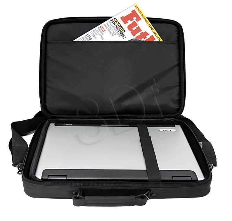 ESPERANZA Bag for Notebook 15,6'' ET101 Classic | Black portatīvo datoru soma, apvalks