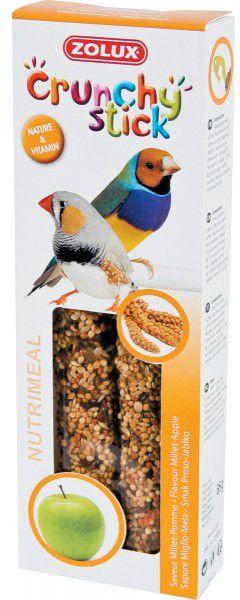 Zolux Crunchy Stick ptaki egzotyczne proso/jablko 85 g 1105140