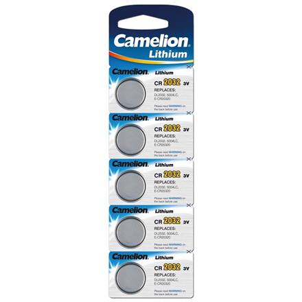 Camelion Lithium Button celles 3V (CR2032), 5-pack Baterija