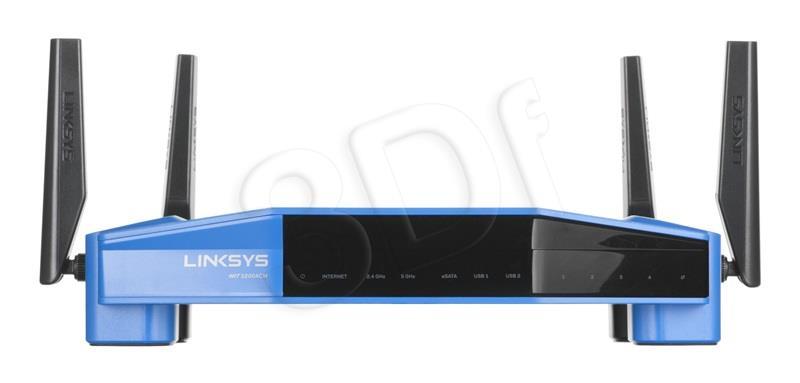 Linksys AC3200 Gigab.Wifi WLAN Router - WRT3200ACM-EU WiFi Rūteris