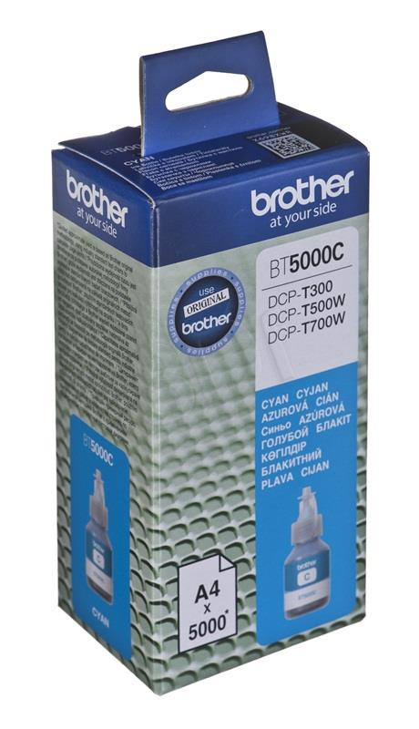 Brother BT5000C Cyan ink bottle 5000 pages (DCPT300, DCPT500W) kārtridžs