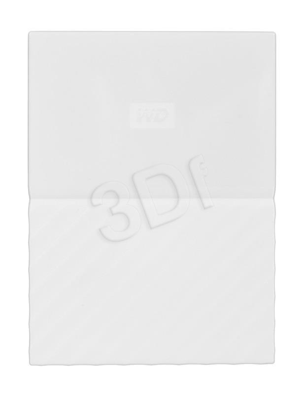 WD My Passport 2.5'' 2TB USB 3.0 White Ārējais cietais disks