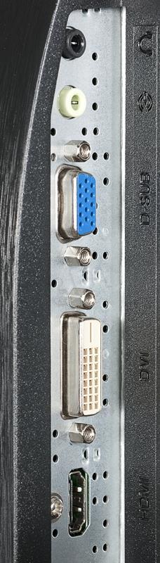 AOC E2460SH 24inch, D-Sub/DVI/HDMI, speakers monitors