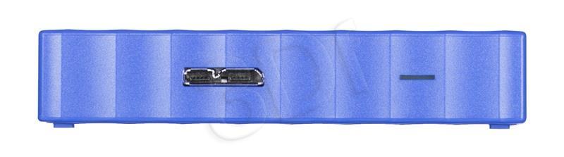 WD My Passport 2.5'' 1TB USB 3.0 Blue Ārējais cietais disks