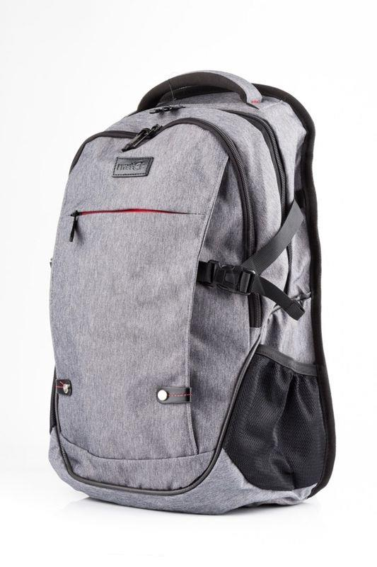 Natec notebook backpack ALPACA, 17,3'' Grey portatīvo datoru soma, apvalks