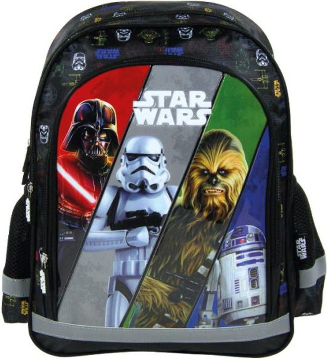 Derform Plecak 15 B Star Wars 16 (PL15BSW16) DERF.PL15BSW16 Tūrisma Mugursomas