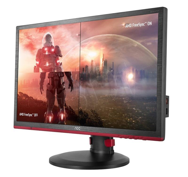AOC G2460PF, D-Sub, DVI, HDMI, DP, Gaming monitors