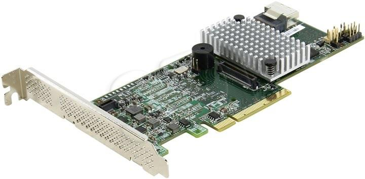 LSI MegaRAID SAS/SATA 9271-4i   SGL 4-Port intern 6GB/s 1GB matricas